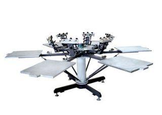 color screen printer multicolor T shirt press screen printing machine