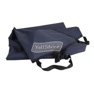 Polyester Waterproof Car Seat Cover Hammock for Pet Dog Pet Navy Blue