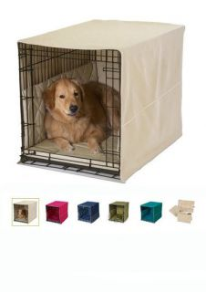 Pet Dreams Classic Cratewear Set XS XXL Dog Cat Crate Cover & Bed