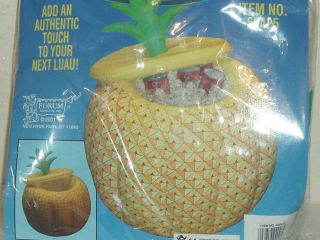 Large Inflatable Pineapple Ice bucket / Cooler HAWIIAN LUAU party