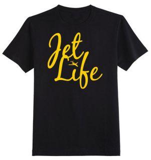 Jet Life T Shirt   new custom dope fly hip hop skate society tgod
