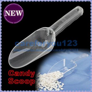 Plastic Candy Wedding Home Party Favor Scoop Scoops C