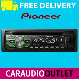 Pioneer DEH 1420UB Car Stereo CD MP3 WMA Front Aux In USB Player RDS
