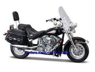 Harley Davidson Motorcycle Diecast FLSTC Softail Maisto Merchandise