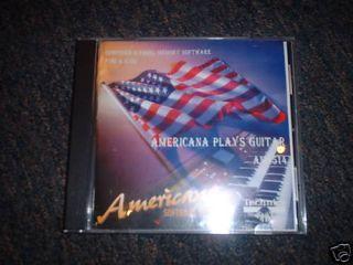 Technics Organ Software Americana Plays Guitar