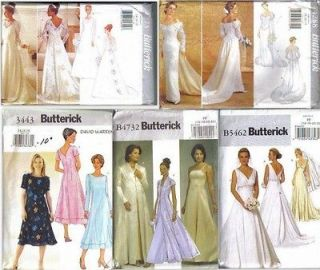Formal Dress on Misses Formal Dress Sewing Pattern Prom Party Evening Plus Size
