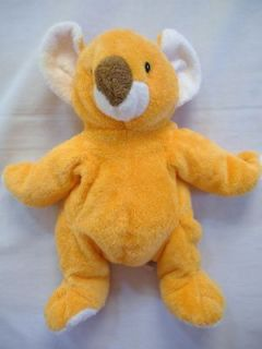 TY PLUFFIES Pookie Orange Koala Bear Stuffed Plush Animal