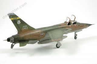 Built plastic model airplanes for sale F 105 Thunderchief Pro Built 1