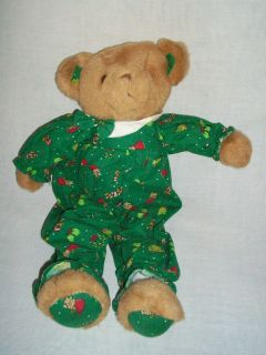 Merchandise Brown Teddy Bear Green Christmas Stuffed Animal Plush