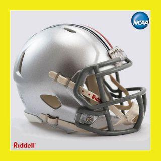 STATE OSU BUCKEYES OFFICIAL NCAA MINI SPEED FOOTBALL HELMET by RIDDELL