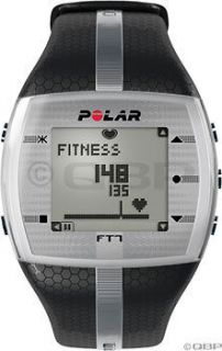 Polar FT7 Heart Rate Monitor Mens; Black/Silver