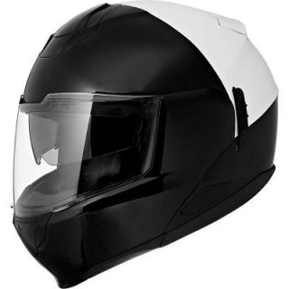 EXO 900 3 in 1 Modular Motorcycle Helmet Police White/Black Medium M