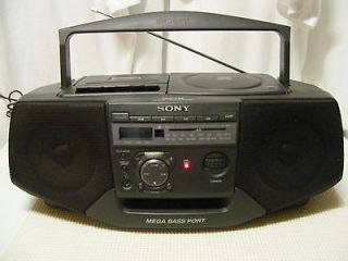 SONY AM/FM CASSETTE CD STEREO BOOMBOX RADIO****