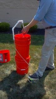 The Bucket Sink   Portable Wash Station   Sanitary   Saves Water   RV