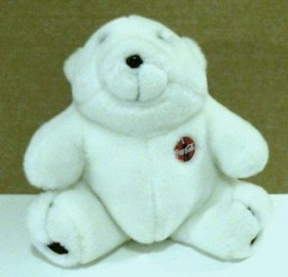 Plush Coca Cola Advertising Polar Bear c. 1996 Stuffed Animal