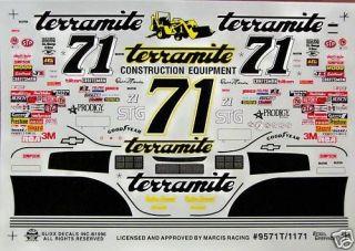 71 Dave Marcis Terramite Chevy Monte Carlo 1995