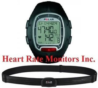 New POLAR RS100 BLACK Heart Rate Monitor Watch Fitness Review Exercise