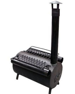 Portable Military Camping Hiking Hunting Ice Fishing Cook Wood Stove