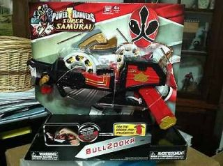 Power Ranger Samurai Bullzooka (Brand new and factory sealed)