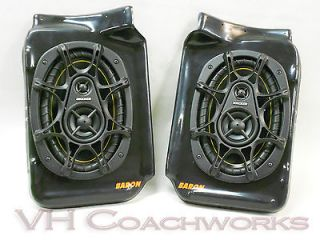 70 71 72 Chevy Truck Rear Speaker Enclosures  KICKER 6x9 speakers C10