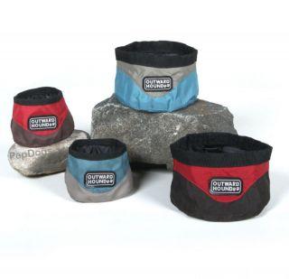 KYJEN Dog Pet Portable COLLAPSIBLE Camping TRAVEL BOWL