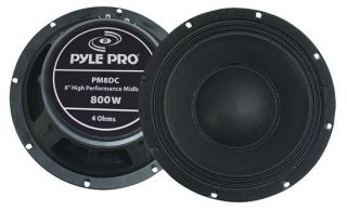 New Pyle PM8DC 8 High Power High Performance Midbass Car Audio