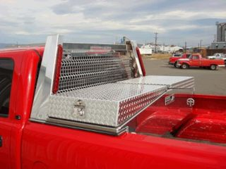 Rack for Pickup Truck cab back shield protection