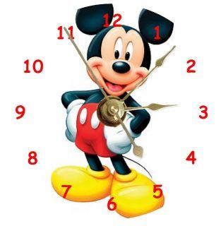 Quartz Disney Mickey Mouse Goofy Donald Duck Wins Champ Wall Clock