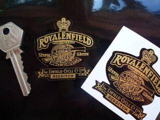 ROYAL ENFIELD GUN Black Background HELMET BIKE STICKERS