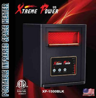 1500W watt Infrared Heater 5600BTU 6 Commercial Quartz heating tube