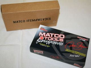 64 Die Cast Bank Racing Champions Matco Tools Dean Skuza Funny Car