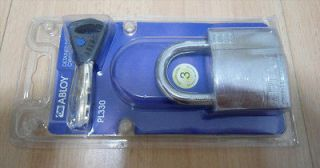 Brand New ABLOY High Security Padlock with Executive Key