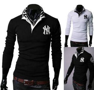 New Fashion Mens Slim fit Casual Polo shirts T Shirt US SZ XS,S,M,L