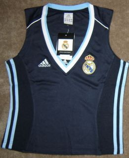 BNWT ADIDAS REAL MADRID NO 7 SOCCER TANK TOP SHIRT