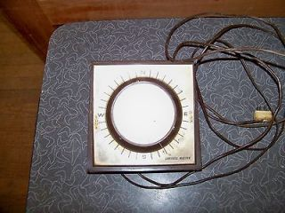 1965 Crown Channel Master Antenna Rotator Control Box