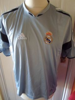 Real Madrid Training Football Shirt Size 36 38 Adults