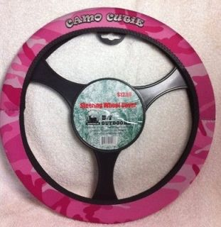 Pink Camo Steering Wheel Cover With or Without Camo Cutie