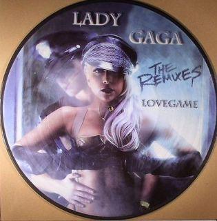 LADY GAGA LoveGame Picture Disc Remix Single NEW Promo Import LMFAO