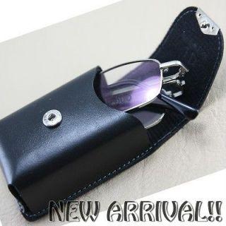 Folding mini reading glasses eyeglasses spectacles metal frame 8312 w