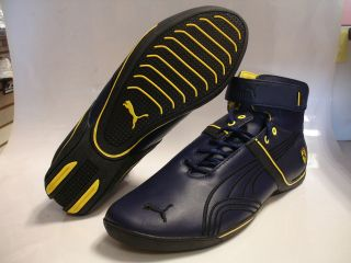 PUMA Ferrari FUTURE CAT REMIX SF MID I PEACOAT/YELLOW 304557 02 MENS