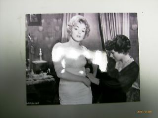 Amazing 10 by 8 Marilyn Monroe Black and White Photograph in Sexy