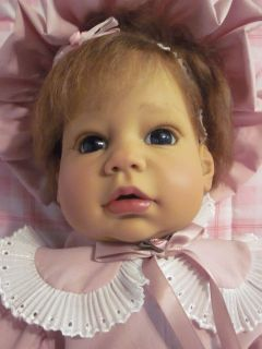 LEE MIDDLETON 24 Real LIFE Like BABY GIRL DOLL Sculpted by REVA