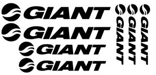 Giant Decals Stickers MTB DH Bike Racing Glory Reign TCR Trance Gear