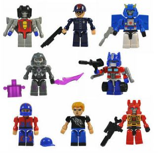 8pc Kre O Figures Mini Figure Transformer Kreons Mini Kreon Child Boy