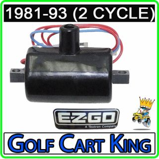 Epi Golf Cart Ignition Coil EPIGC106 Yamaha Golf Carts G22 A G Max 03 07