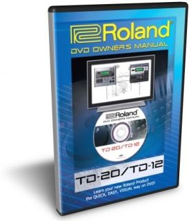 Roland TD 20 TD 12 DVD Training Tutorial Manual Help