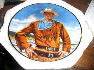 john wayne plates franklin mint in Collector Plates