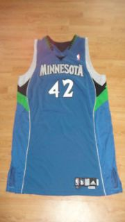ROOKIE Minnesota Timberwolves Un Used Pro Cut Game Issued Road Jersey