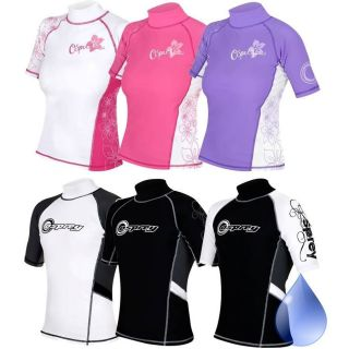 RASH Vest LYCRA Wetsuit Rashguard Boys Girls Childs Kids,Osprey