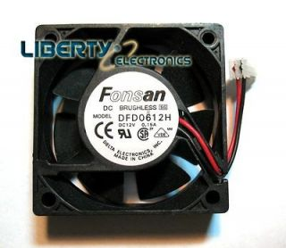 NEW FONSAN BRUSHLESS FAN MOTOR   DC12V 0.15A   model DFD0612H
